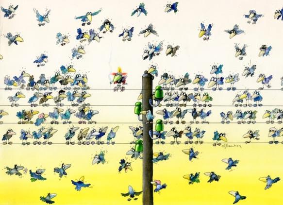 Oiseau Punk - Roger Blachon reduite