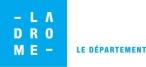 logo LADROMEbleu