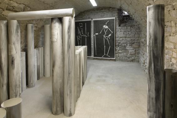 "Exposition de Jean-Philippe Roubaud ""Didascalie IV : Constructio"
